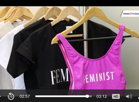 Statement t-shirts change the lives of women abuse victims