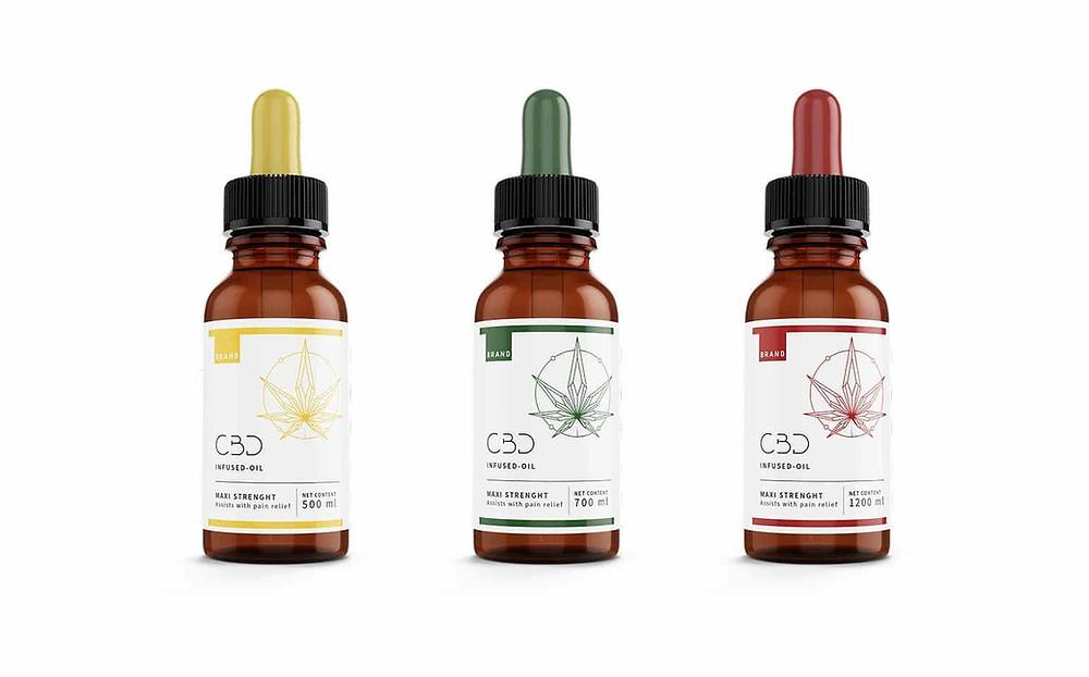 packaging, sample, THC, CBD