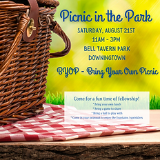 Saturday, August 21st 11am - 3pm Bell Tavern Park Downingtown.png