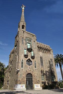 Casa de Gaudí en Barcelona