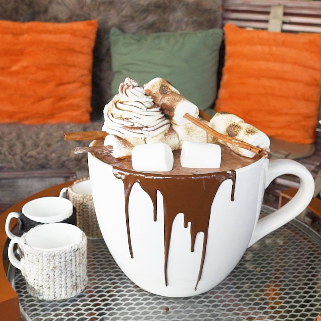 Drink Up: This Is a 20 lb Boozy Hot Cocoa