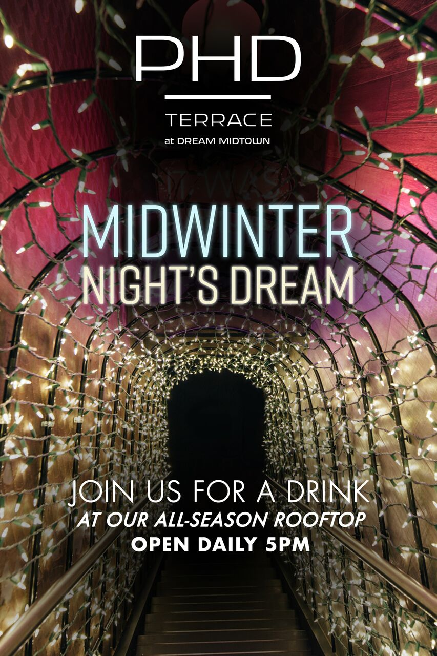 Midwinter Night's Dream A-Frame Poster