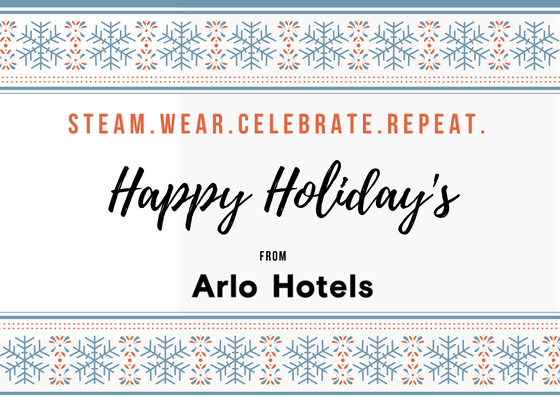 Arlo Hotels Holiday Card