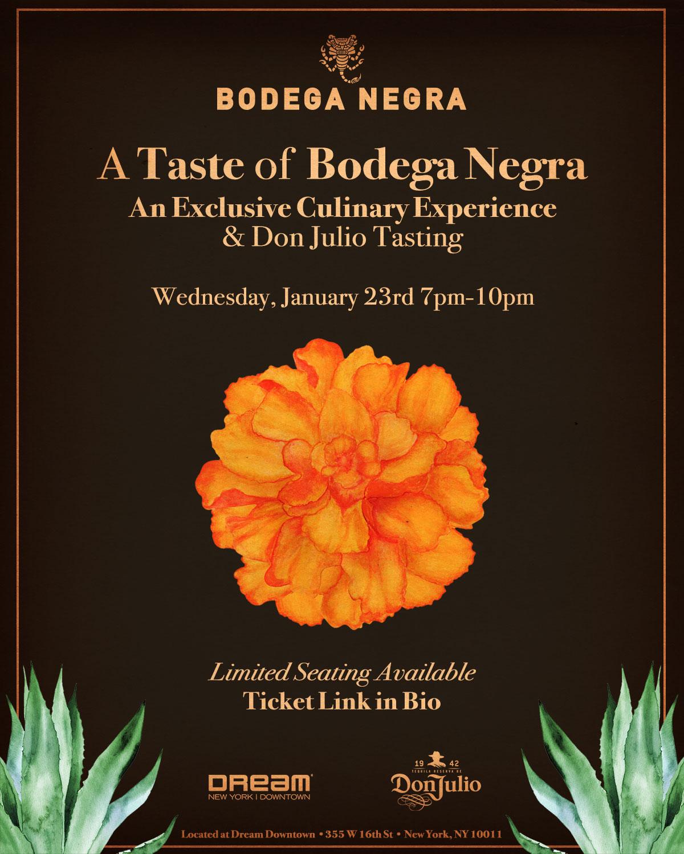Taste of Bodega Negra