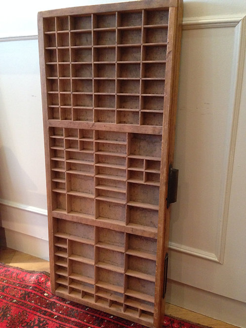 Genuine Vintage Printer's Tray - SOLD - similar available