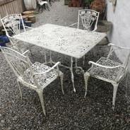 Harrods metal garden set