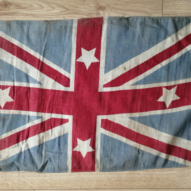 New Zealand governors flag 1864
