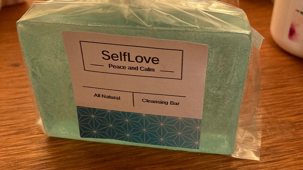 Peace and Calm Cleansing Bar