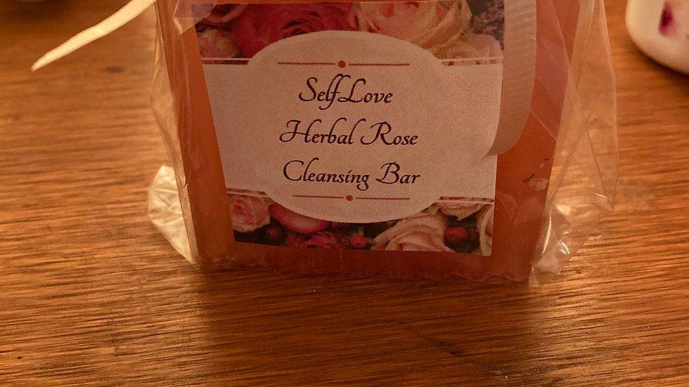 Herbal Rose Cleansing Bar