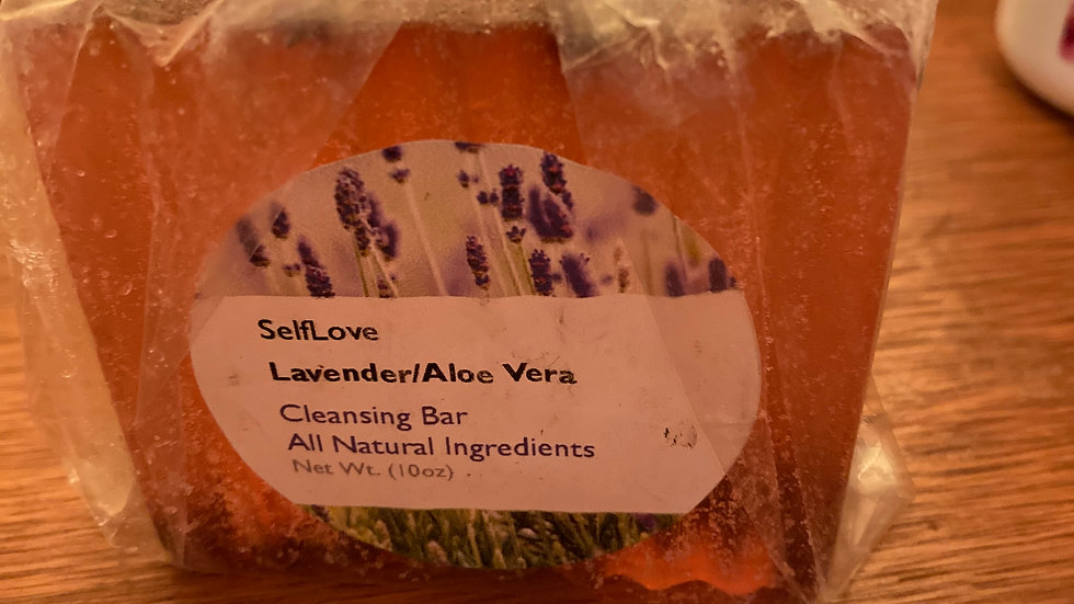 Lavender and Aloe Vera Cleansing Bar