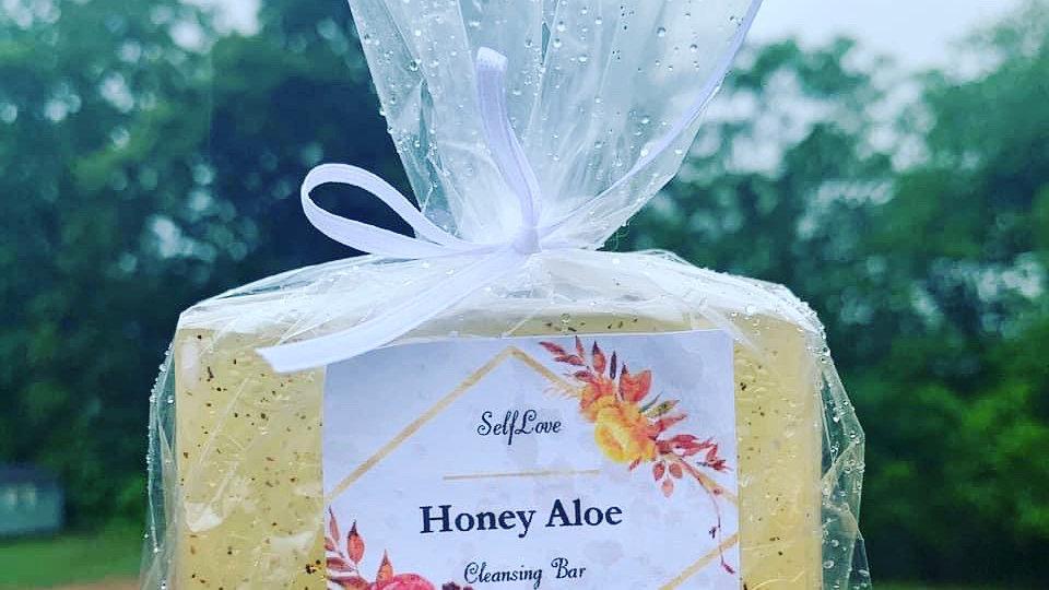 Honey Aloe Cleansing Bar