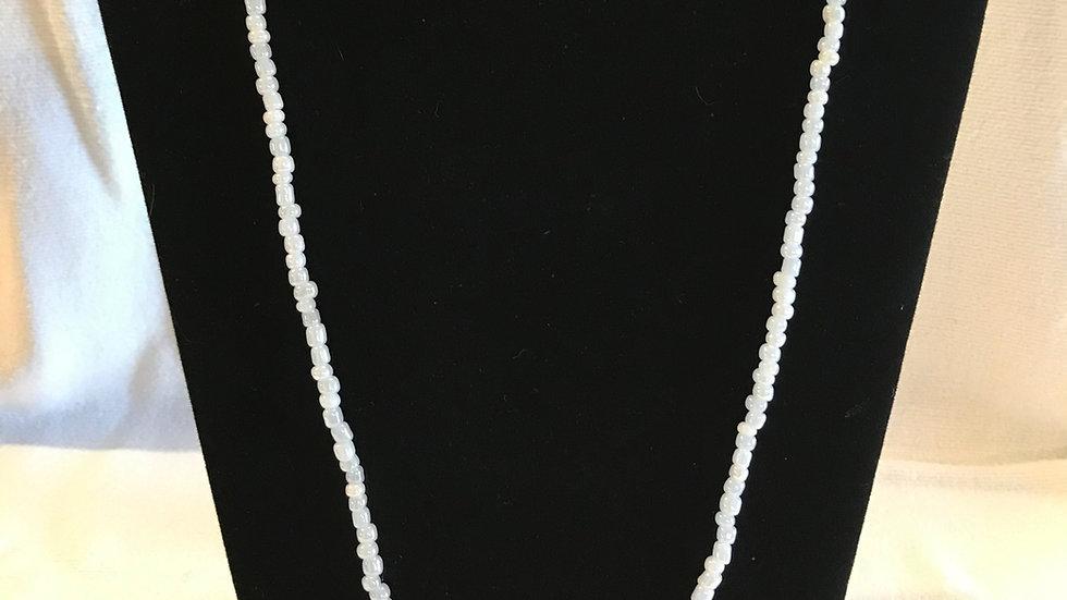 White Waist Beads