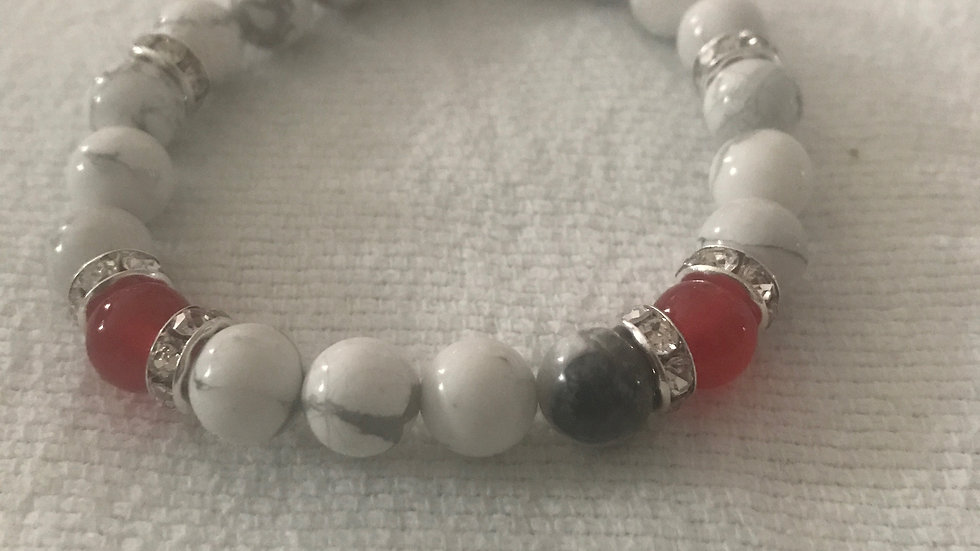 Marble with Red Agate