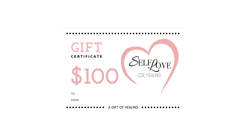 SelfLove Gift Card