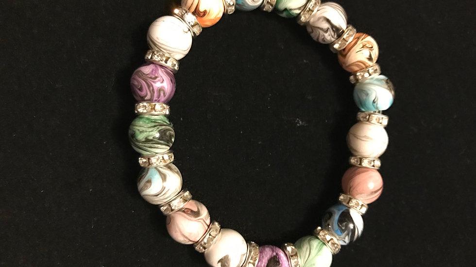 Multi-Color Swirl Bracelet