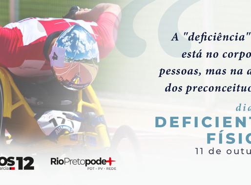 """Dia do """"Deficiente"""" físico - uma carta aberta de Carlos Arnaldo"""