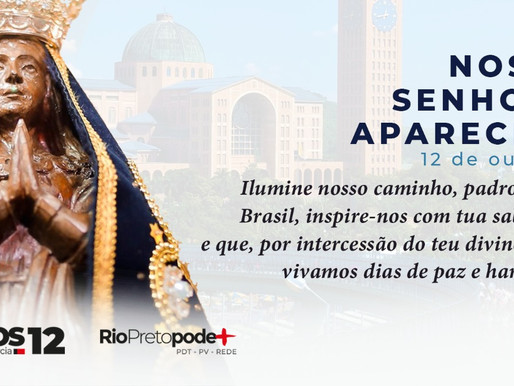 CARTA ABERTA DE CARLOS ARNALDO SOBRE O FERIADO DE 12 DE OUTUBRO