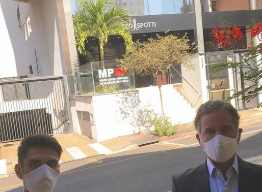 #SaiuNaMídia (Diário da Região) - MP recebe queixa de ônibus superlotados feita por Carlos Arnaldo