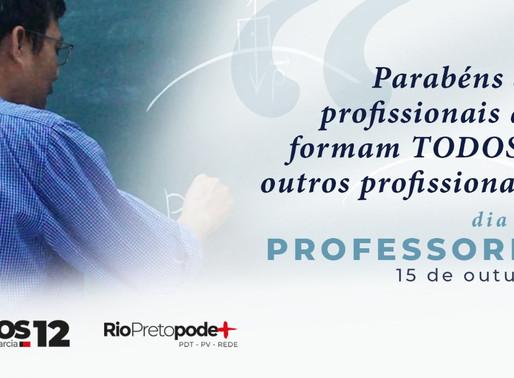 CARTA ABERTA DE CARLOS ARNALDO AOS PROFESSORES E PROFESSORAS - #DiaDoProfessor