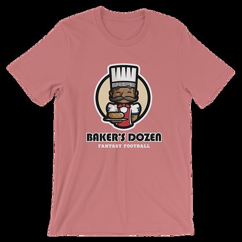 Baker's Dozen Unisex T-Shirt (Mauve)