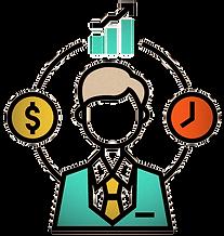 fund-manager-flatoutline-vector-22828649