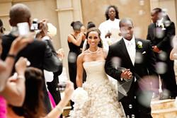 Dr. Lisa officiates Buckhead Wedding