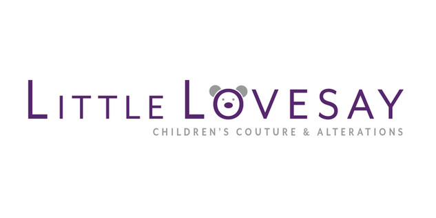 Logo for a kids dressmaking business