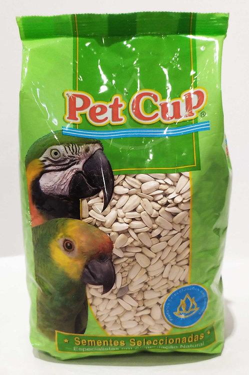 Girassol branco  Pet Cup 700gr