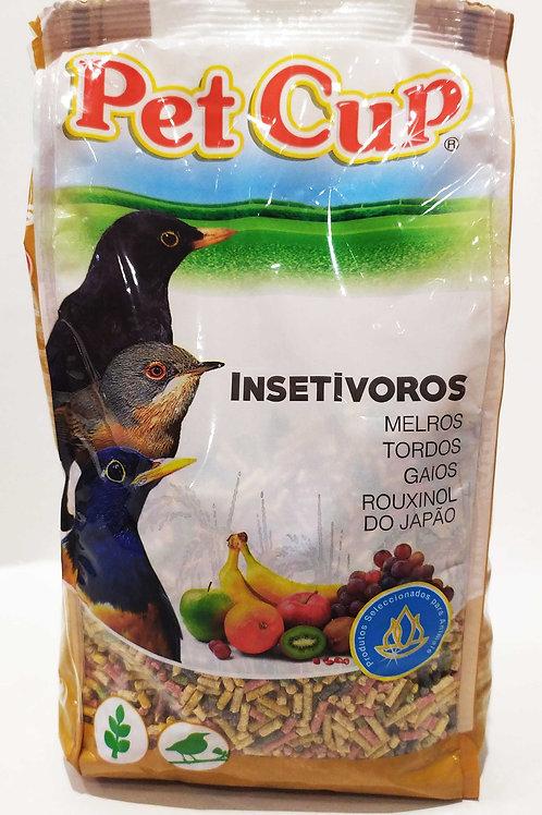 Granulado para aves insetívoras 750gr