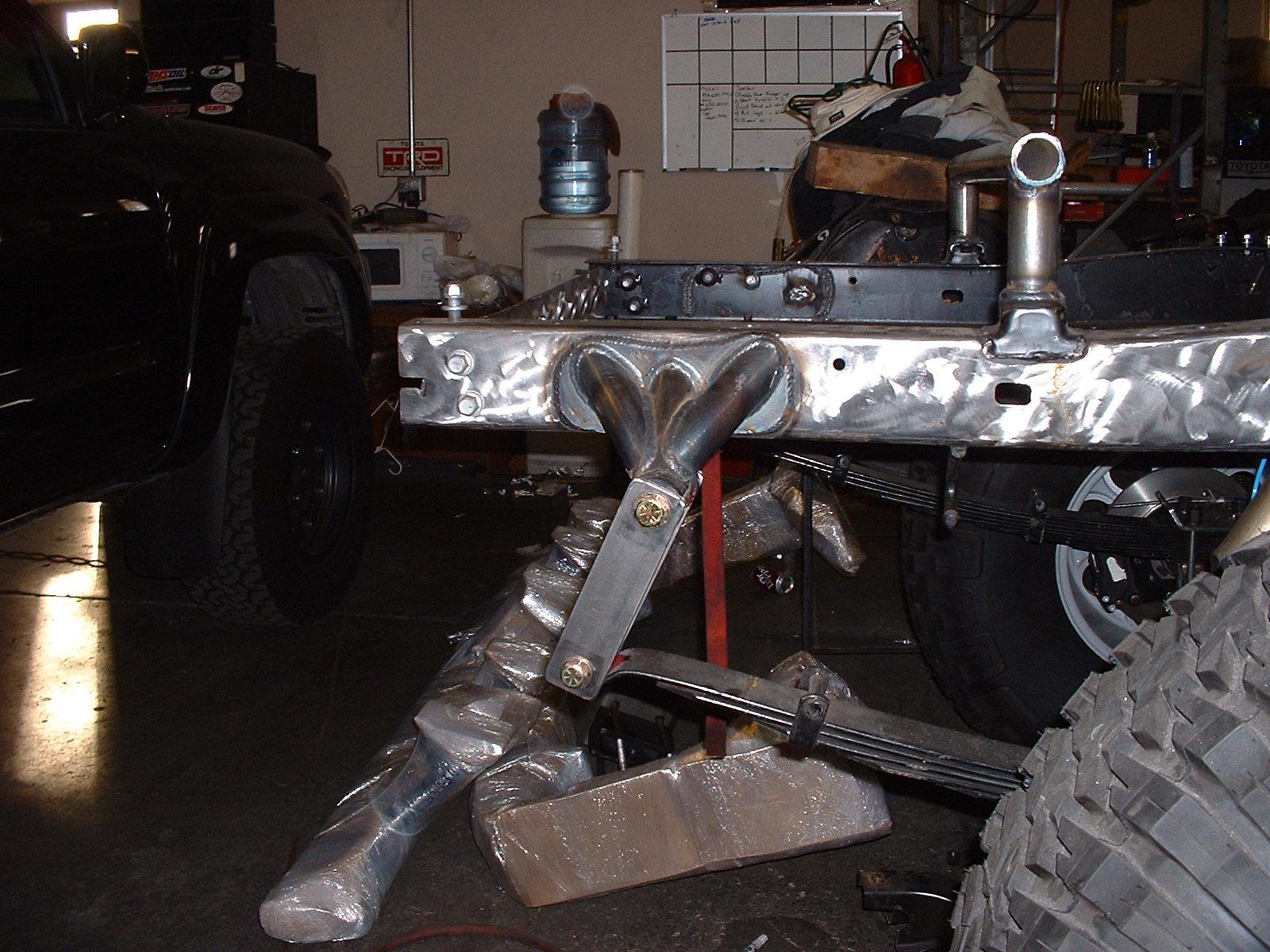 toyota tacoma solid axle swap