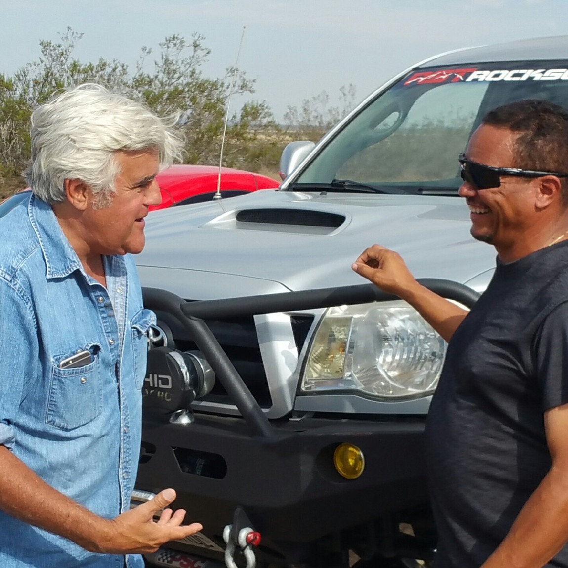 jay leno and wyatt scott