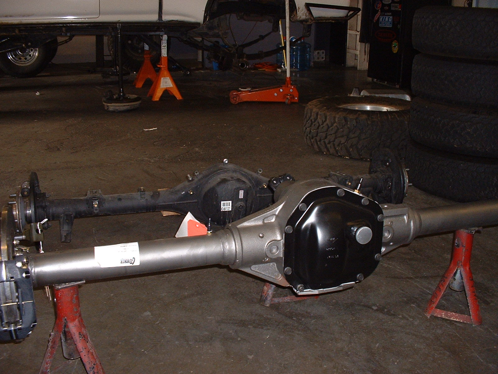 toyota 1 ton axle swap