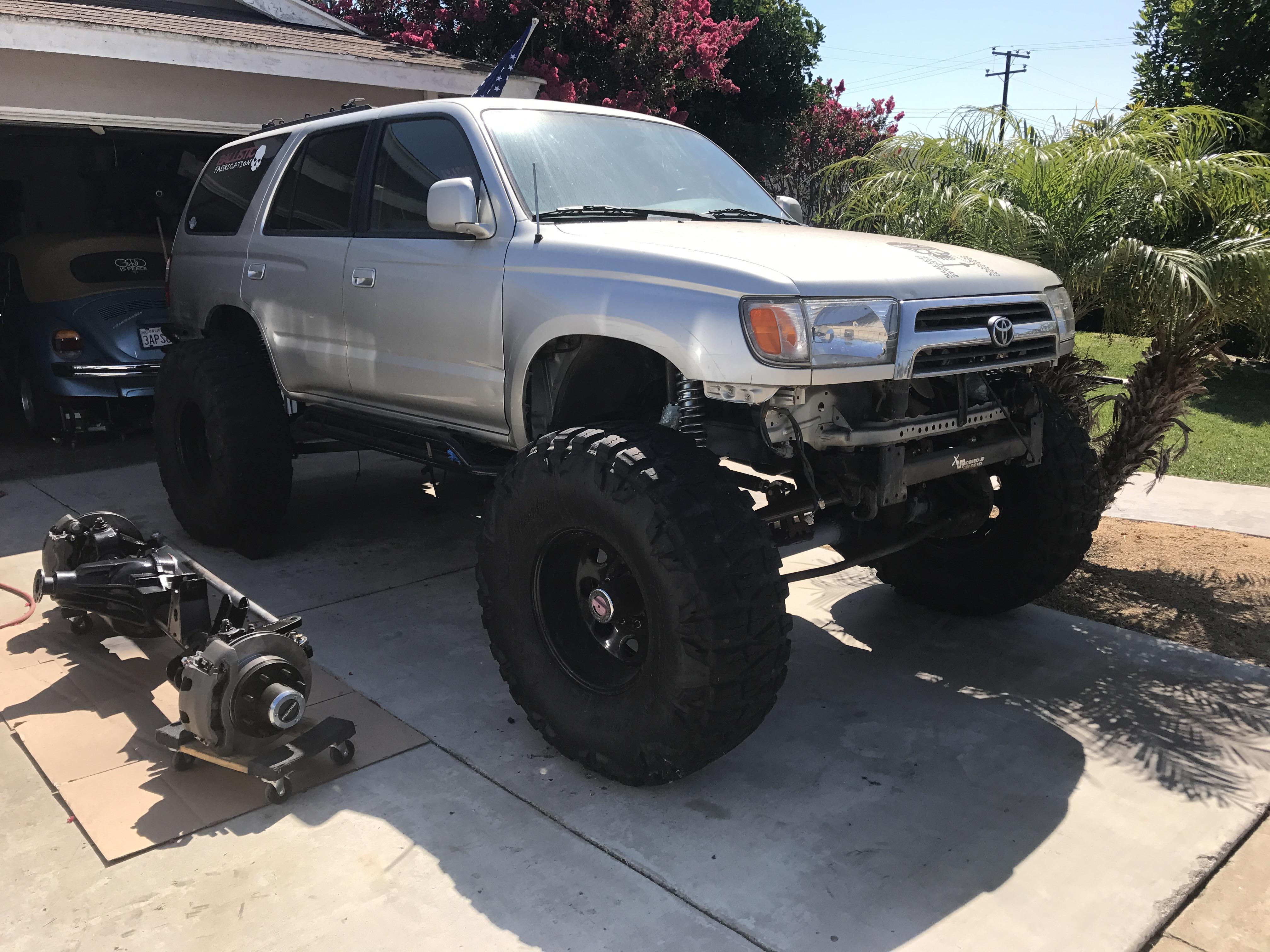 1999 4runner Solid Axle Swap Part 1