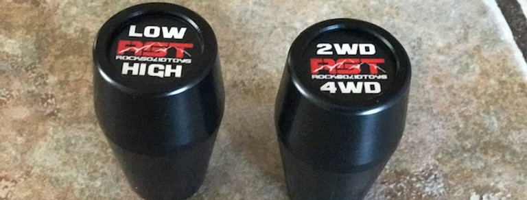 RST Twin stick shift knobs combo