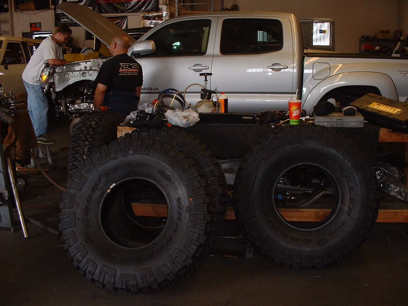 toyota double cab solid axle swap