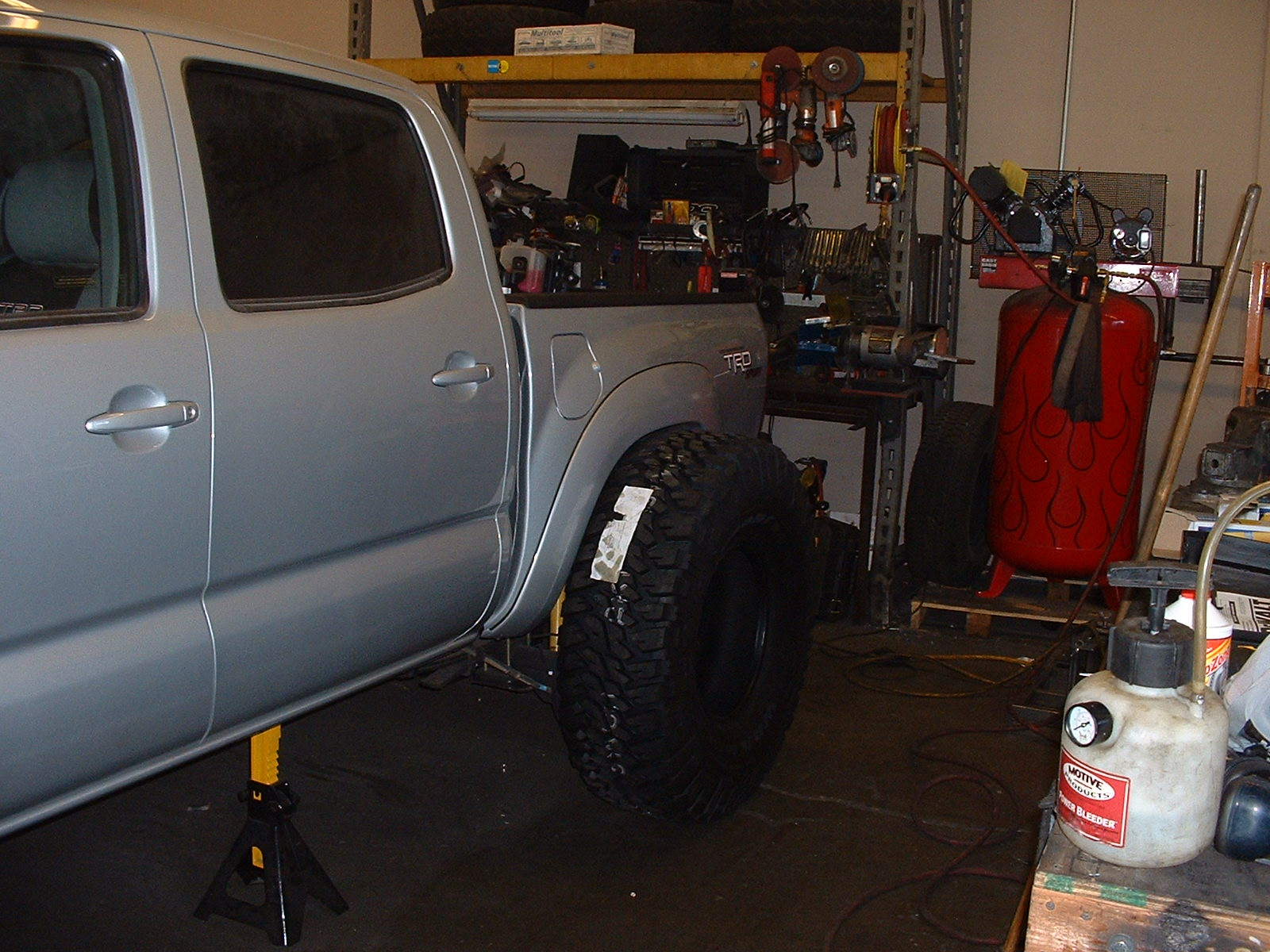 trd sport solid axle swap