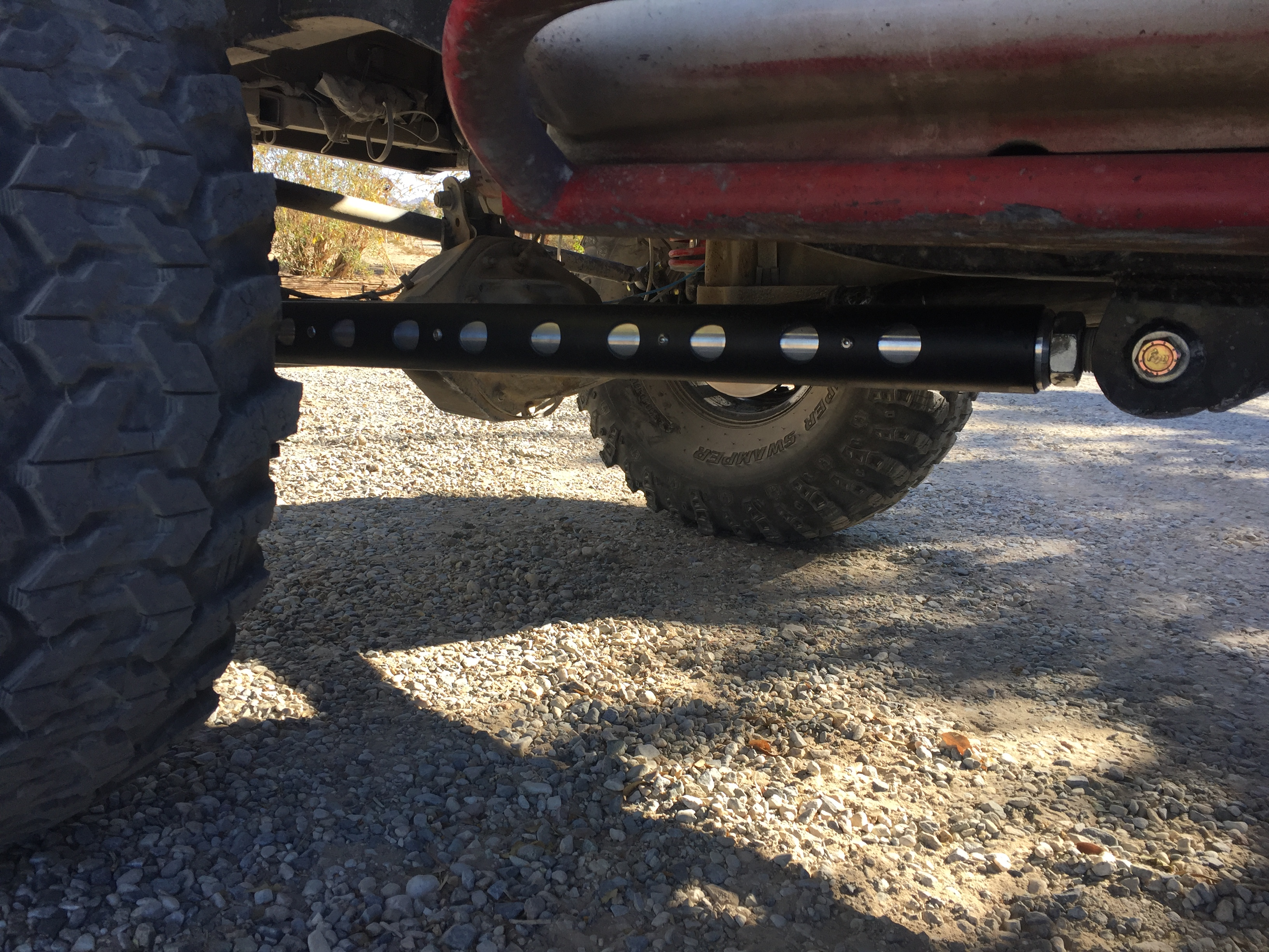 three link solid axle swap