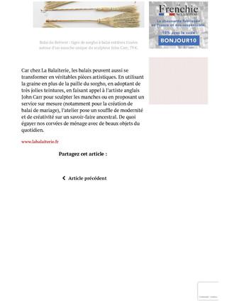 Mag  in France _ Vie Pratique _ La Balai