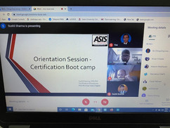 ASIS Certification Bootcamp Session