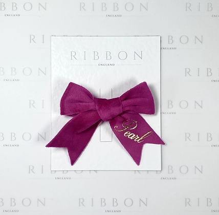 Limited Edition- Bright Pink Bow Single