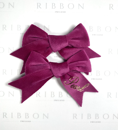 Limited Edition- Bright Pink Bow Pair