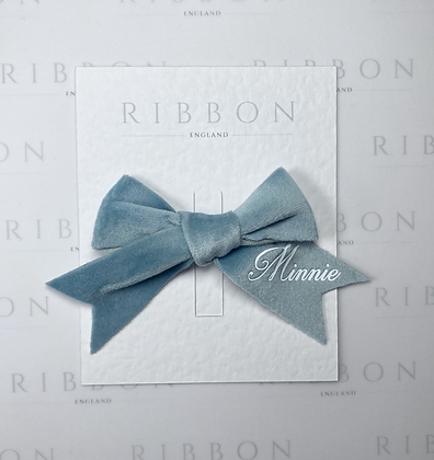 Limited Edition- Baby Blue Bow Single