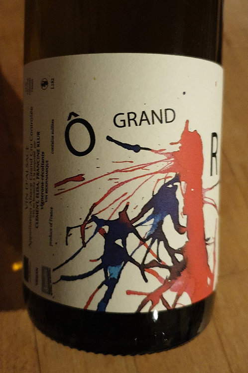 Blanc, Alsace Grand Cru, Vignobles Klur, O grand R