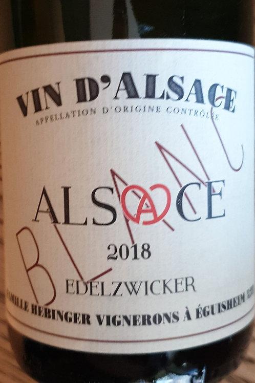 Blanc, Alsace, Domaine Hebinger, 1L