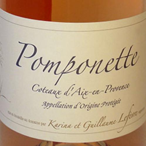 Rosé, Coteaux d'Aix en Provence, Sulauze, Pomponette