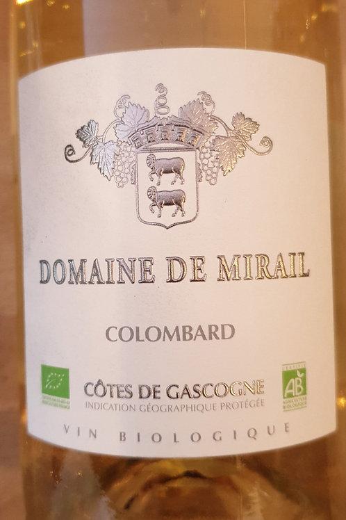 Blanc, Domaine de Mirail, Cotes de Gascogne sec