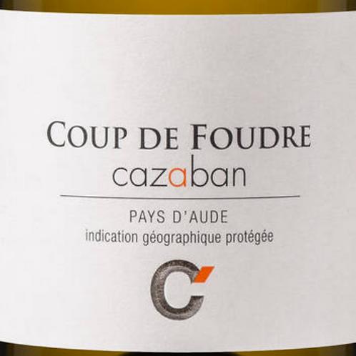 Blanc, Pays d Aude, CAZABAN, Coup de Foudre