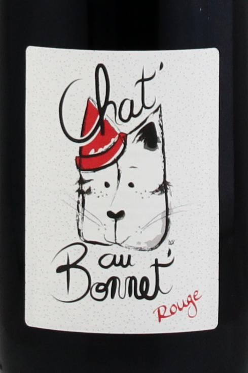 Rouge, Chénas, Château Bonnet, Chat'au bonnet rouge