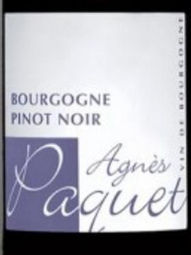 Rouge, Bourgogne, Agnès Paquet, Pinot Noir