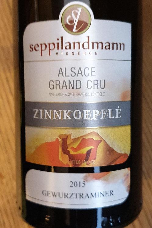 Blanc, Alsace, Sepilandmann, Gewurztraminer Grand Cru